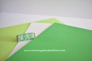 paper shamrock supplies