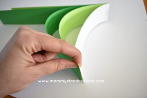 Turning paper strips to heart