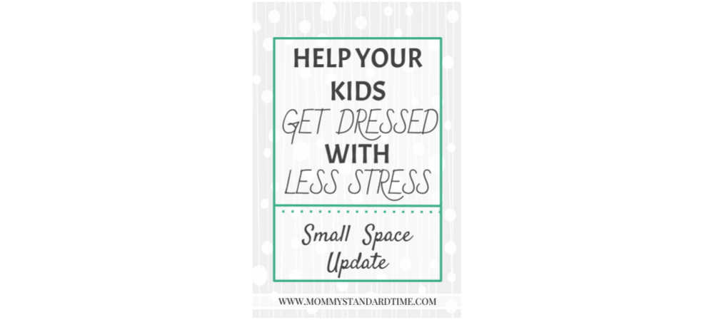 Child Clothing Organization for Small Spaces