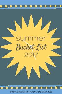 summer bucket list 2017
