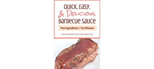 quick, easy, and delicious barbecue sauce featured image