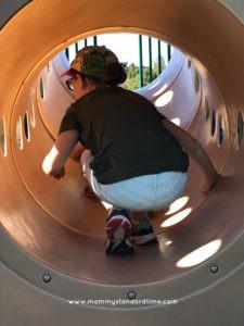 mini me at playground