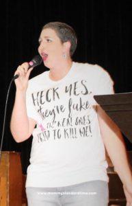 singing at cancerpalooza