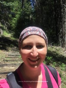 hiking during chemo
