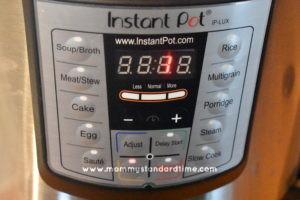 instant pot cooking quinoa
