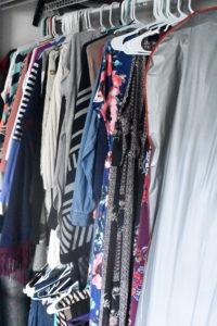 Closet Before KonMari Tidy - Mommy Standard Time Blog