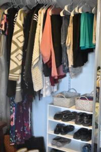 Closet After KonMari Method - Mommy Standard Time Blog