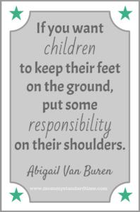 child responsibility quote