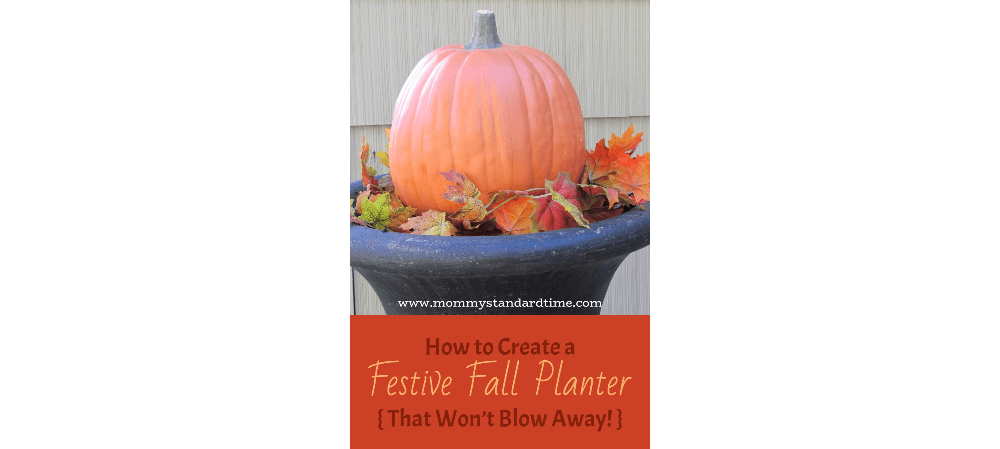 how to create a festive fall planter that won't blow away