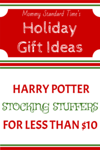 Harry Potter Stocking Stuffers for Less Than Ten Dollars
