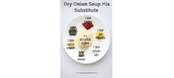 Dry Onion Soup Mix Substitute