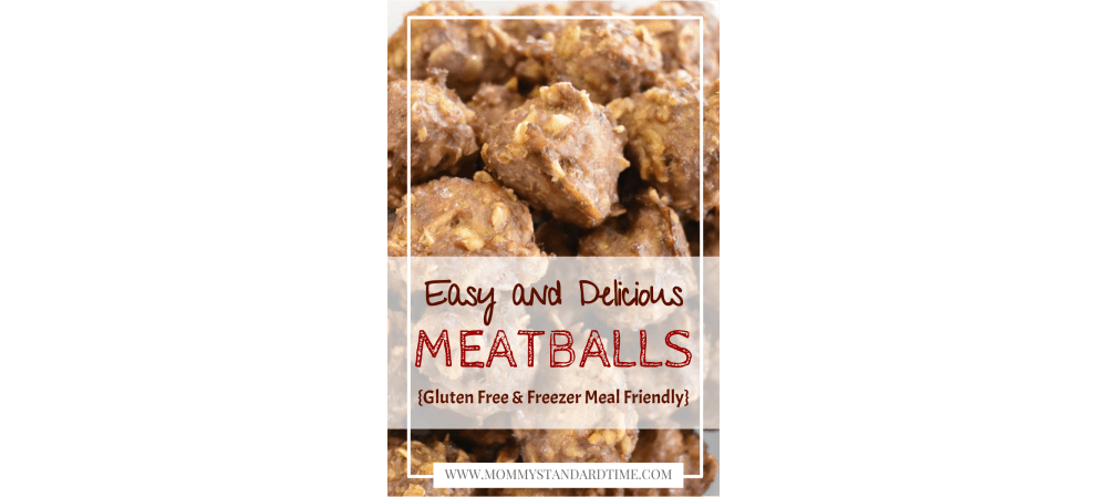 Easy and delicious meatballs - gluten free and freezer meal friendly - featured image