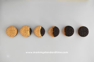 cookies for solar eclipse snack