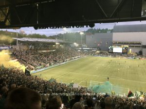 timbers match in timbers army