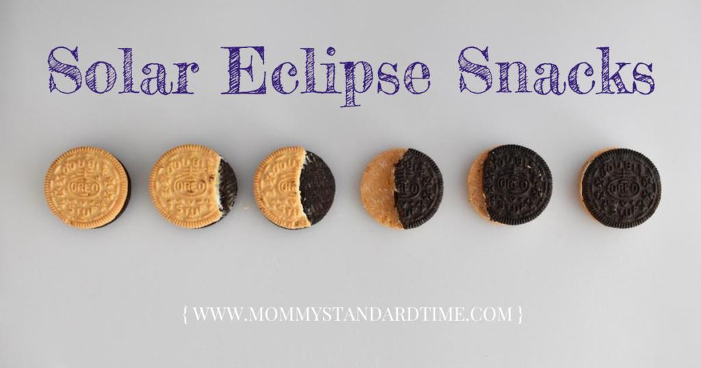 solar eclipse snacks, Mommy Standard Time