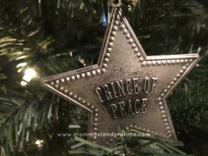 Prince of Peace Ornament