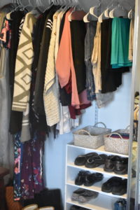 Closet After Using Marie Kondo's KonMari Method - Mommy Standard Time Blog