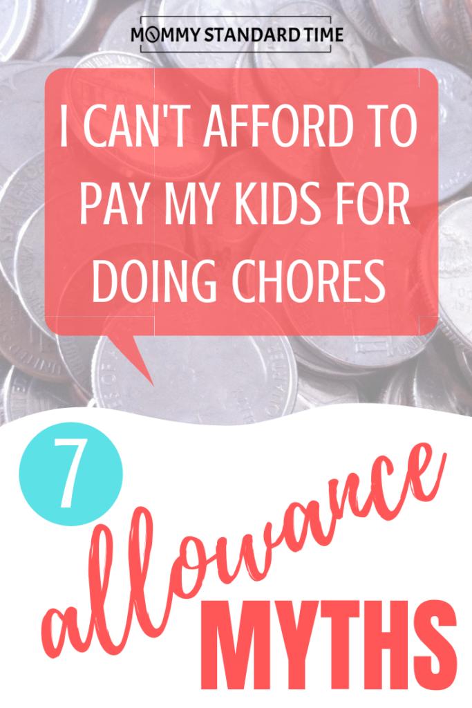 Seven Allowance Myths - Mommy Standard Time.