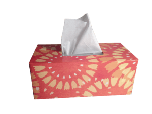 Have tissues ready when talking to kids about cancer