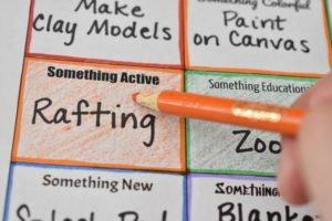 Coloring In Bucket List Bingo