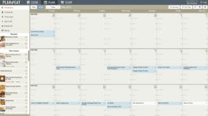 Plan to eat calendar