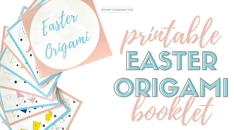 Free Easter Origami Booklet